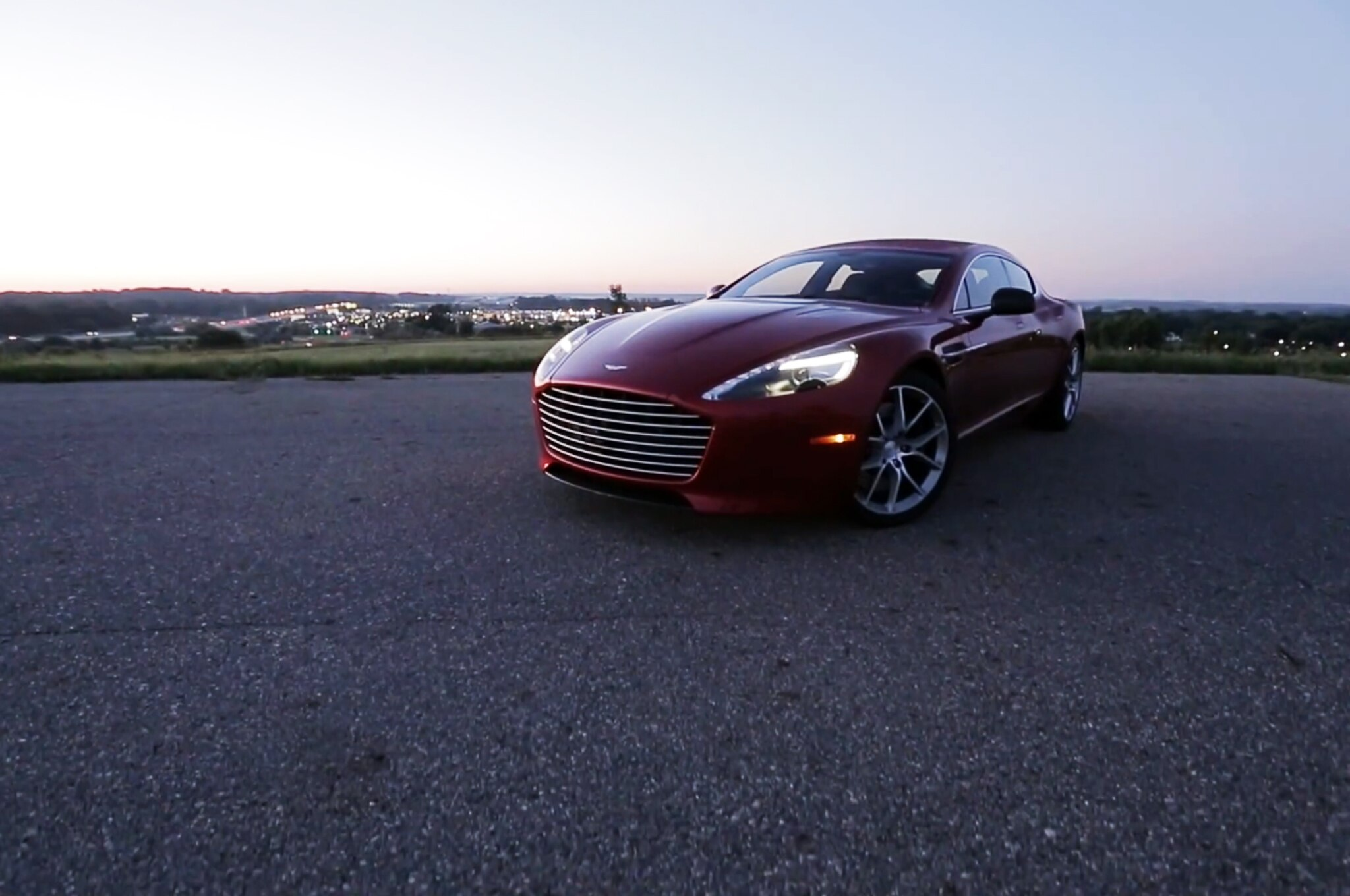2014 Aston Martin Rapide S Carporn Video