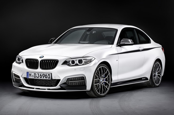 2014 Bmw 2 Series With M Parts Front Three Quarters1 660x438