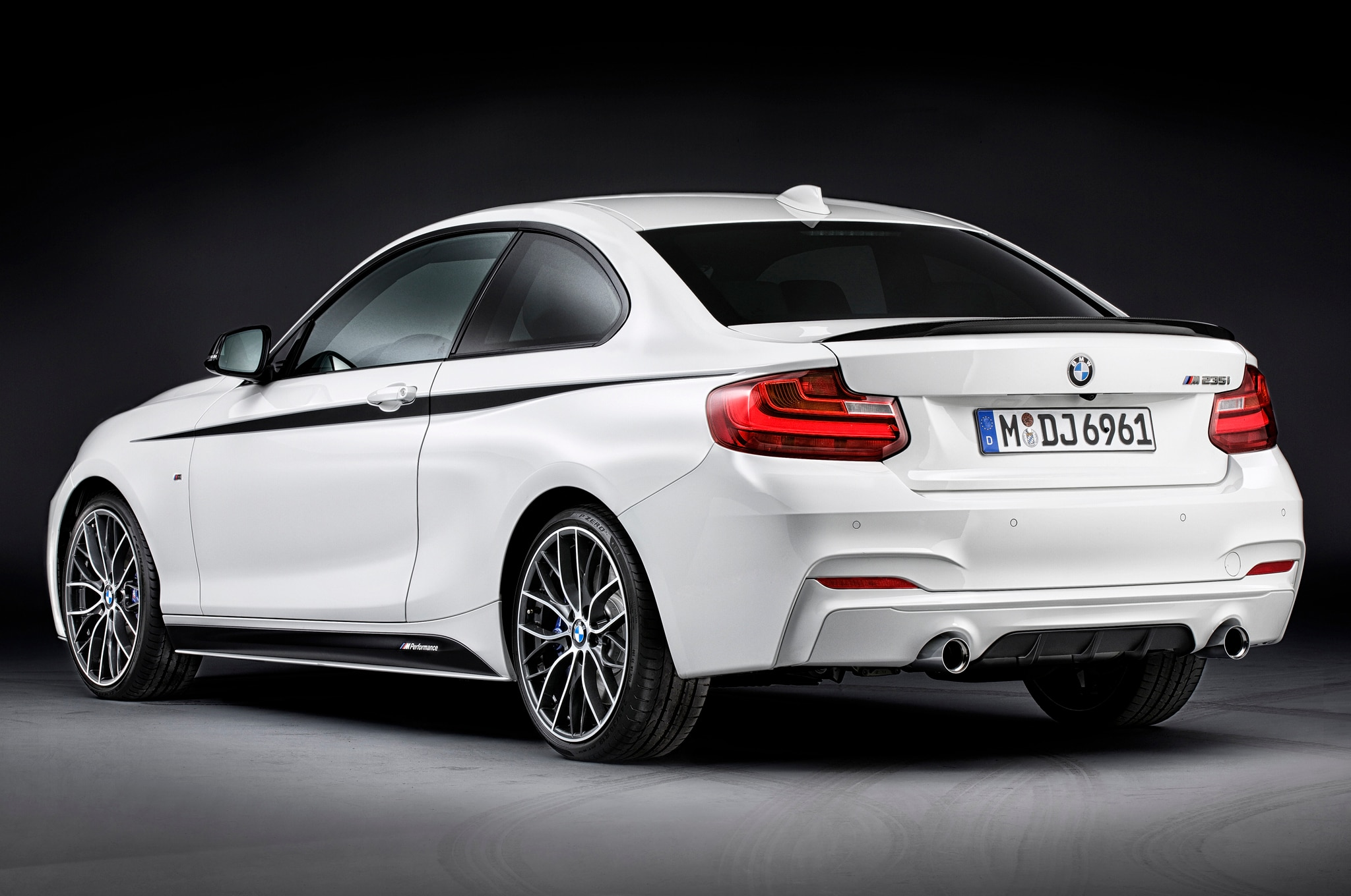 2014 BMW 2 Series Fitted with M Performance Parts