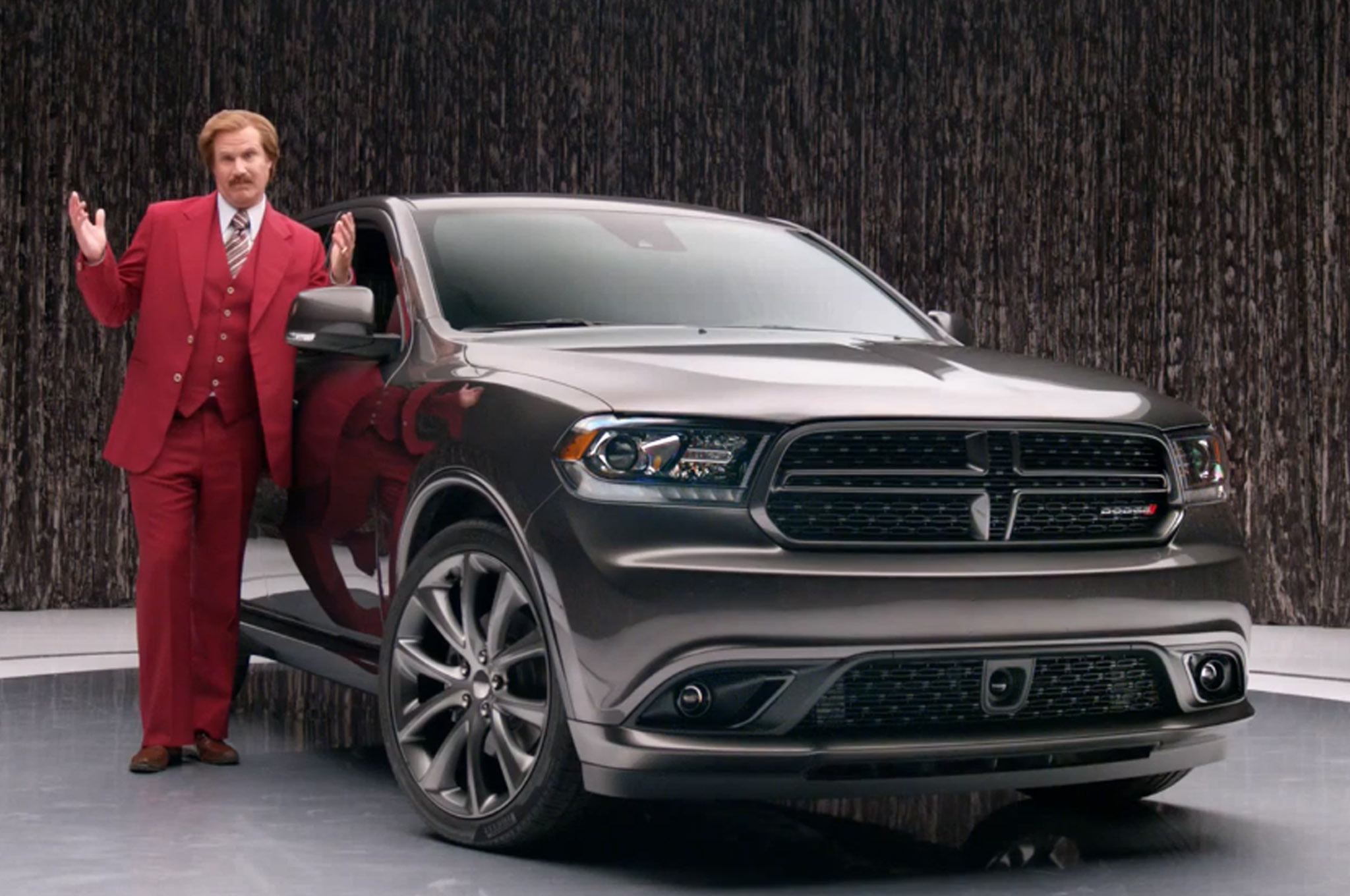 2014 Dodge Durango Ron Burgundy 2014 Auto Ad Awards