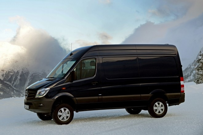 2014 Mercedes Benz Sprinter 4x4 Left Side1 660x438