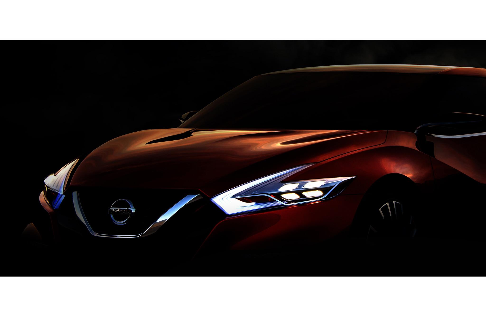 2014 Nissan Sport Sedan Concept Detroit 2014