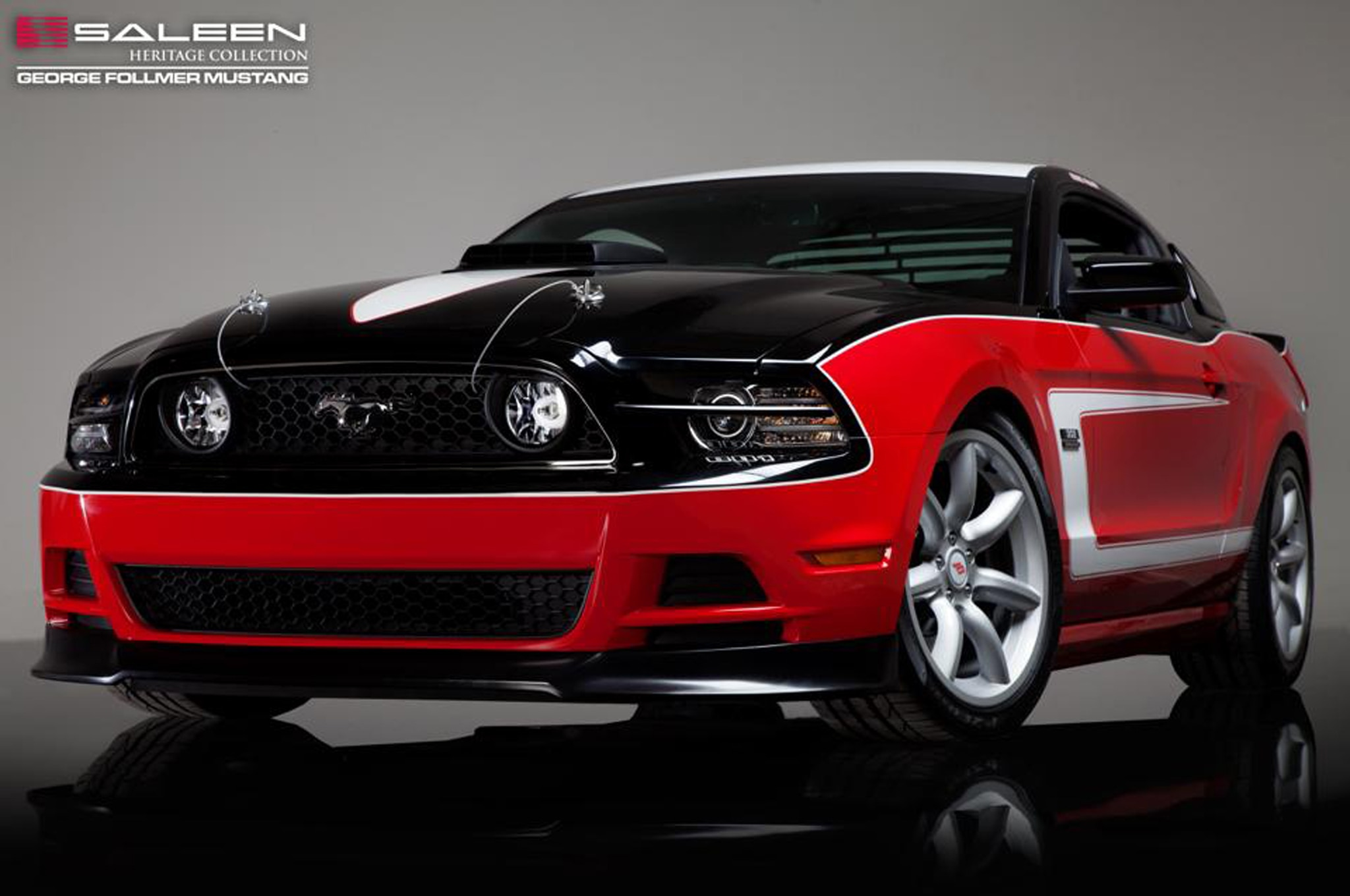 2014 Saleen George Follmer Mustang Front