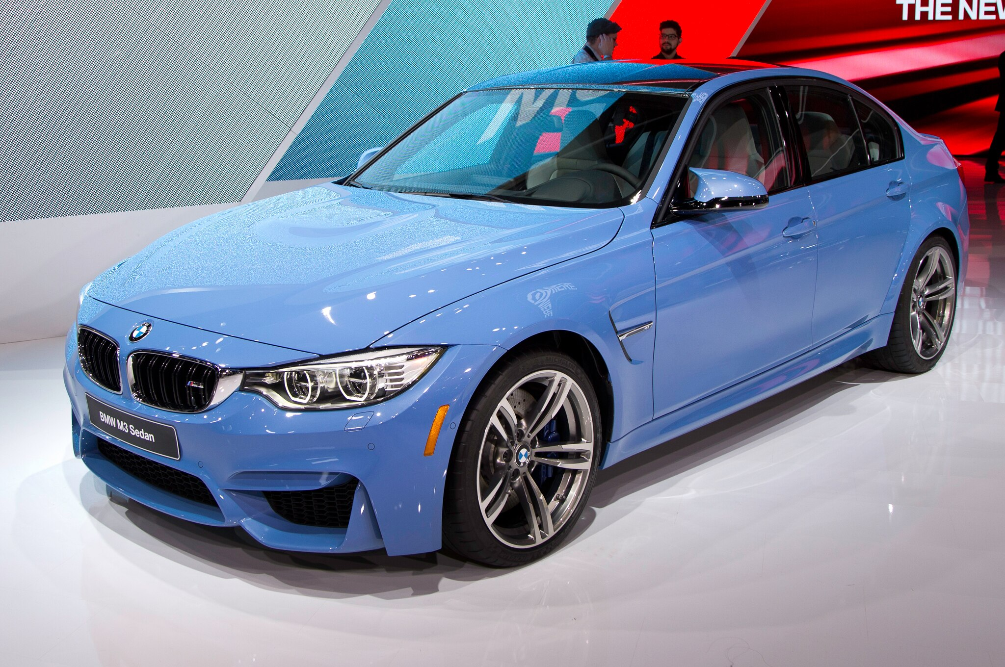 2015 BMW M3 Sedan Front Three Quarters1