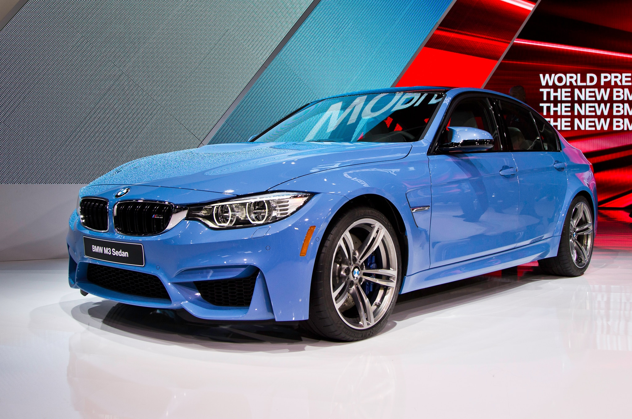 BMW M And M Revealed For Detroit Auto Show - 2015 bmw m3 sedan price