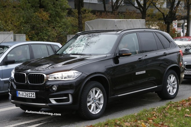 2015 BMW X5 Plug In EDrive Spy Front Three Quarter 1 660x438