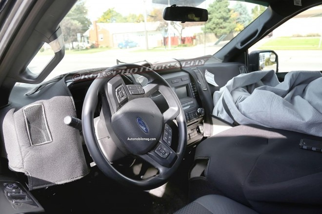 2015 Ford F 150 Interior Spied 31 660x438