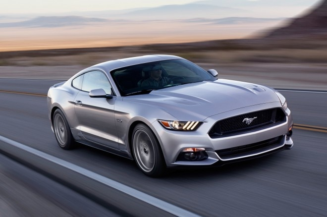 2015 Ford Mustang Front Three Quarter In Motion1 660x438