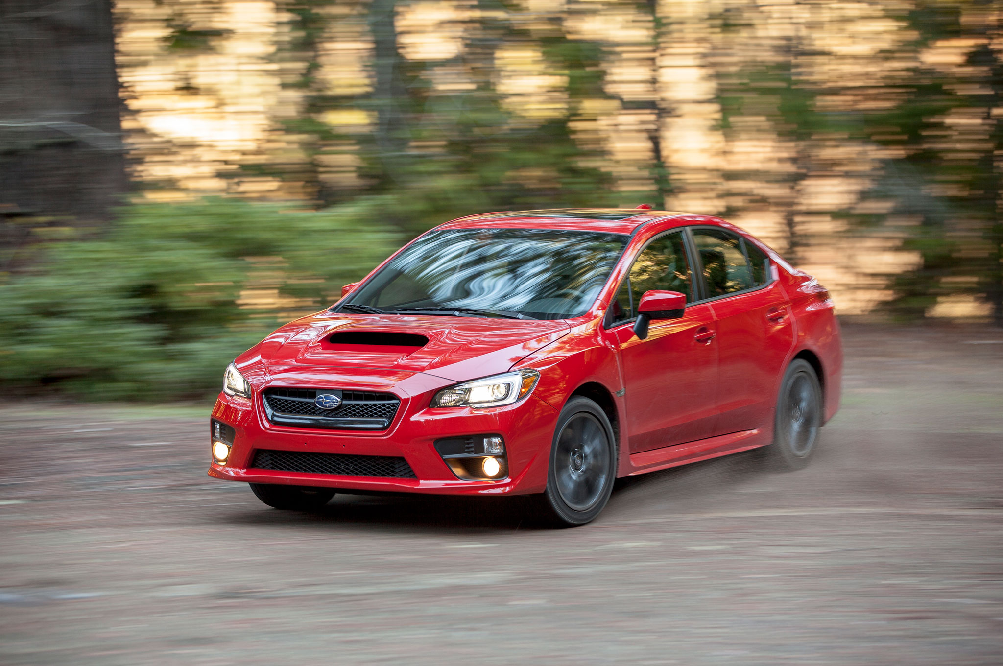 2015 Subaru WRX Front Left View 81