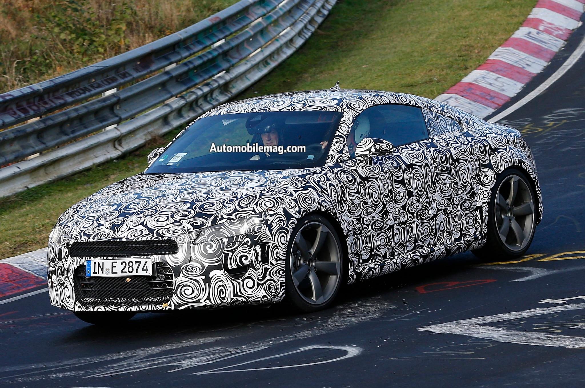 2015 Audi Tt Spy Front Three Quarters 61