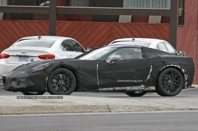 2015 Chevrolet Corvette Z06 Spied Front Three Quarters1 660x438