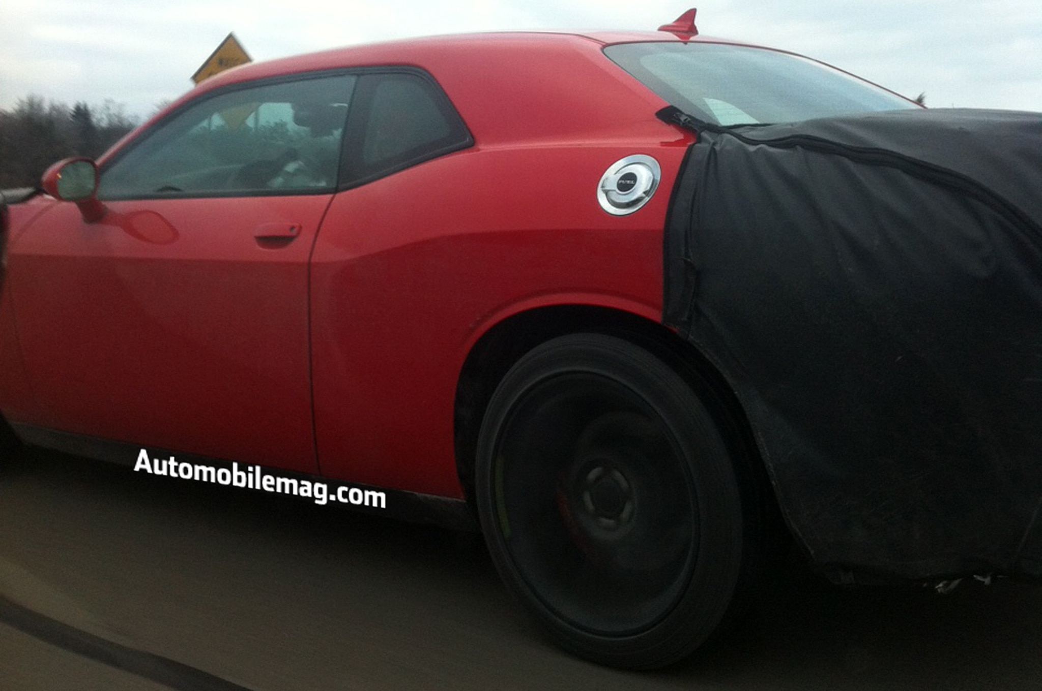 2015 Dodge Challenger Spied Rear Three Quarter1