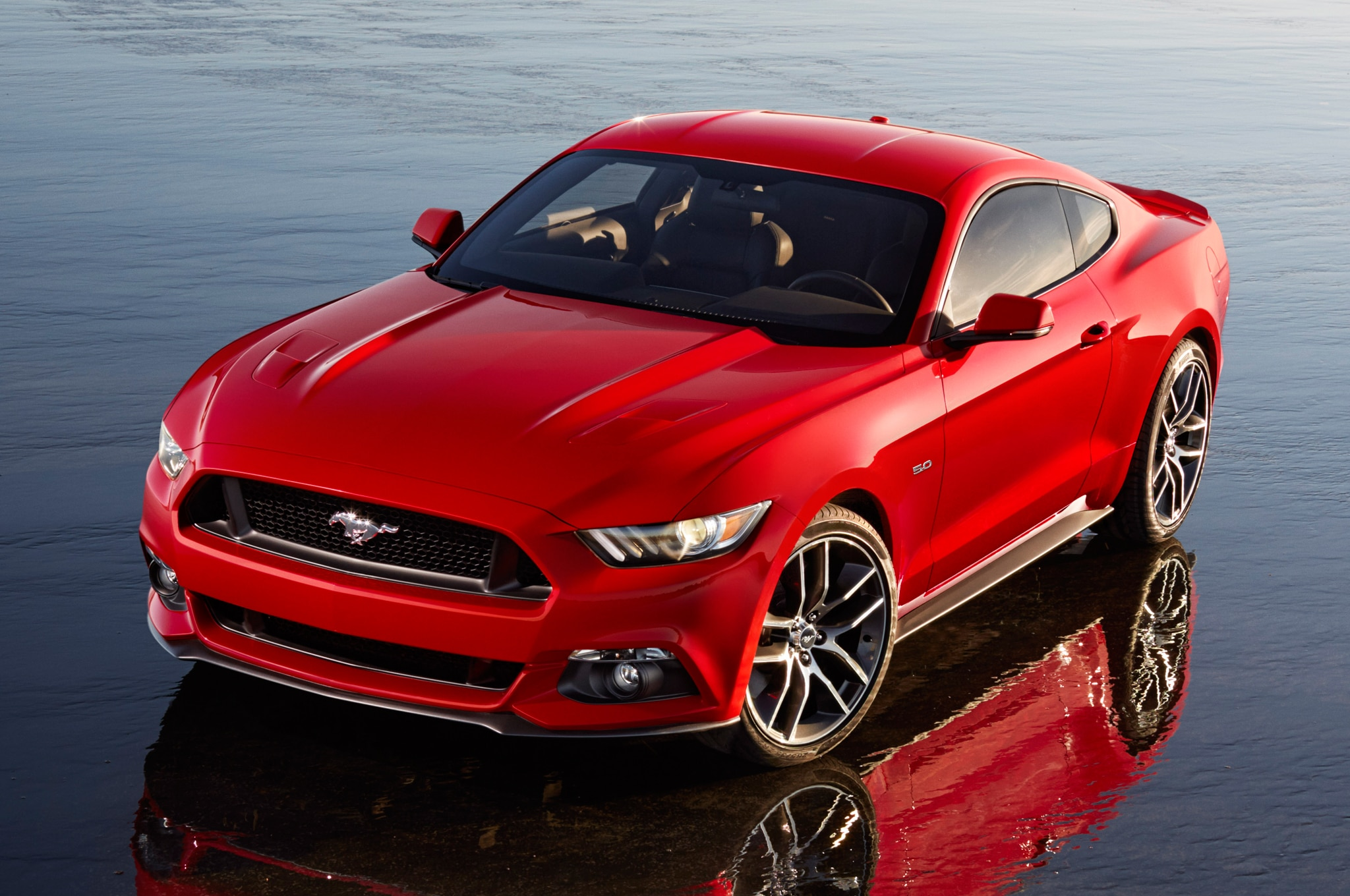 2015 Ford Mustang Front View1