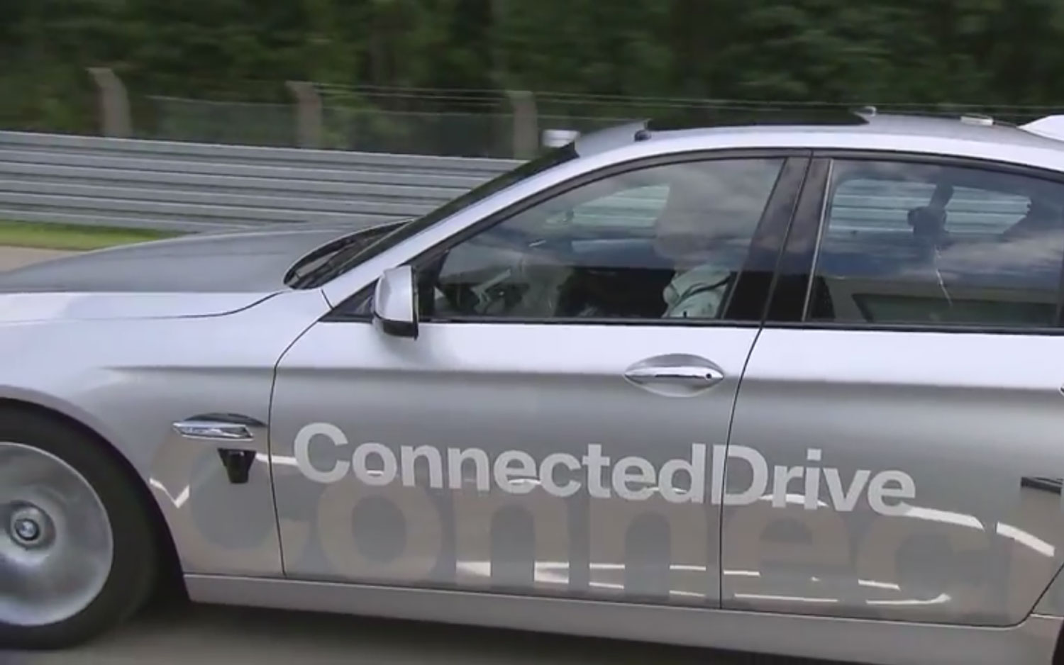 BMW ConnectedDrive Connect Driverless Car Profile