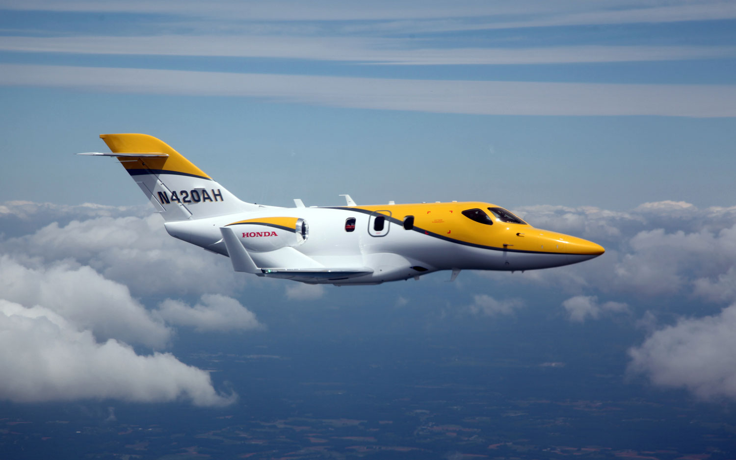 HondaJet F3 Takes First Flight1