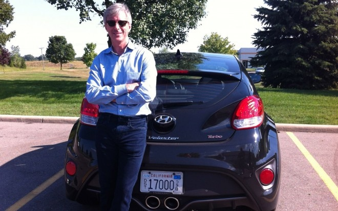 Hyundai CEO John Krafcik And Veloster Turbo1 660x413