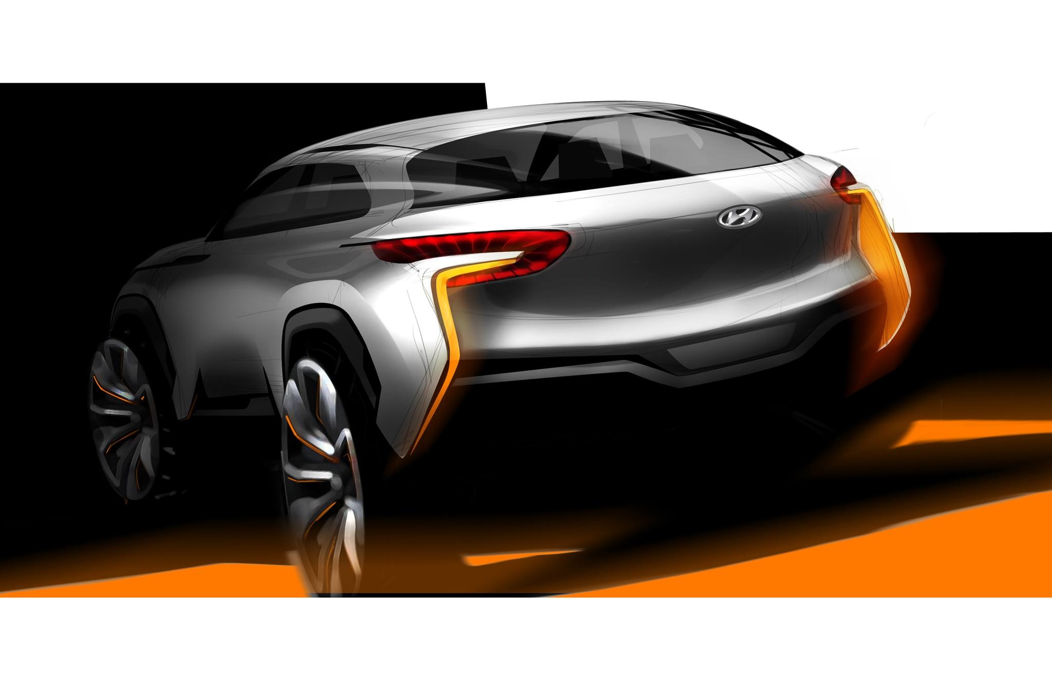 Hyundai Intrado Concept Rear Three Quarters