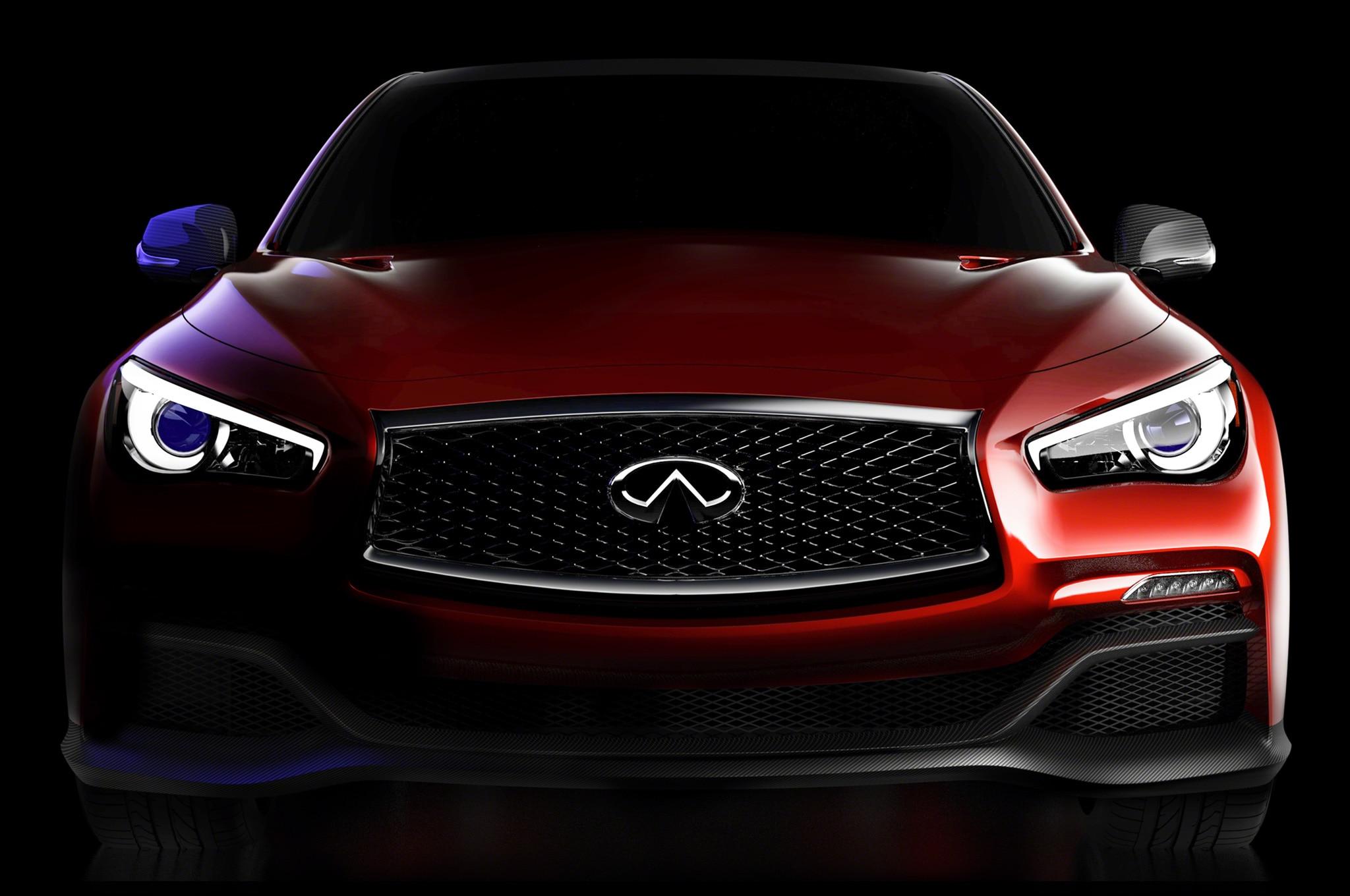 Infiniti Q50 Eau Rouge Concept Front View