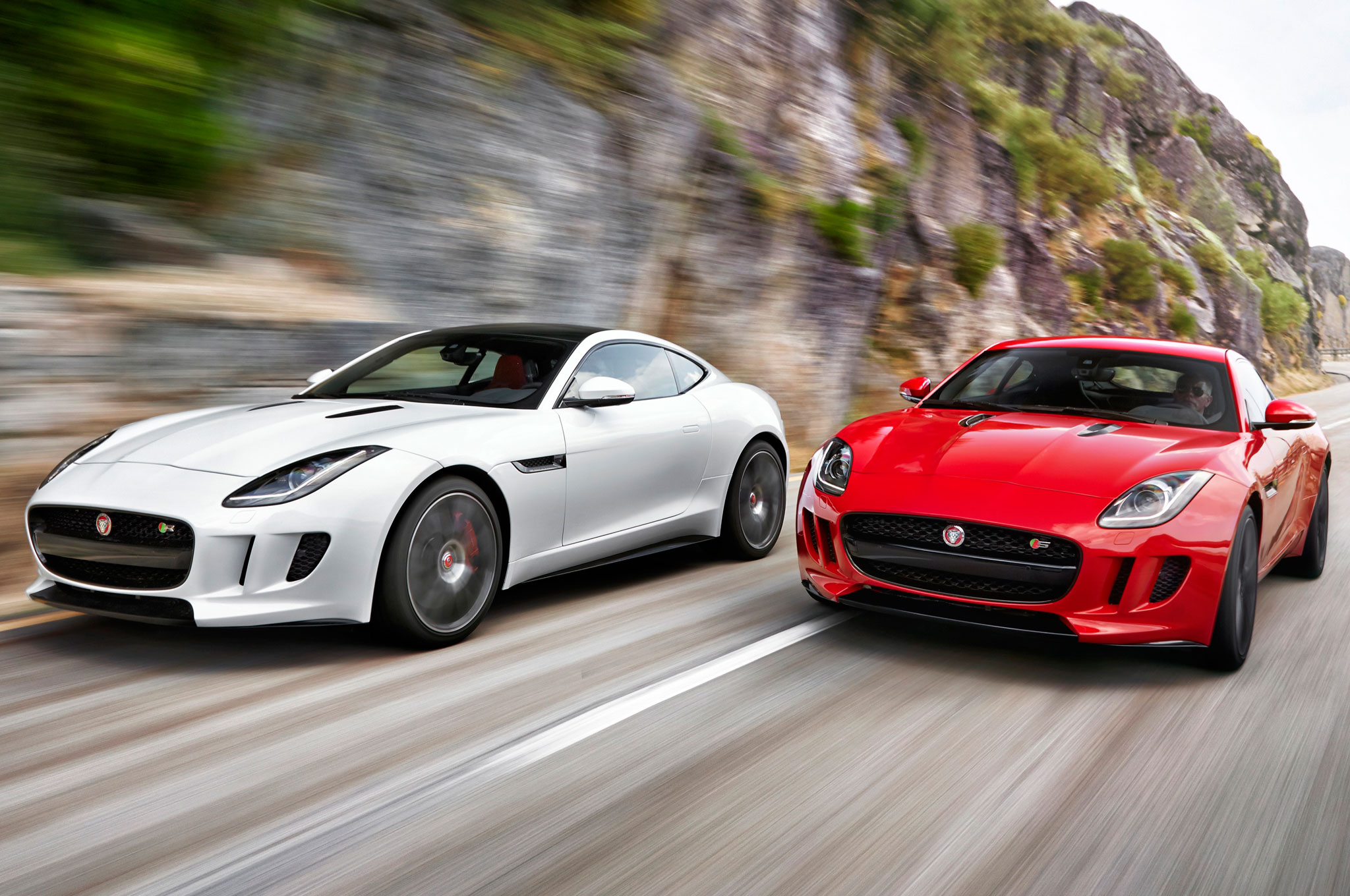 Jaguar F Type Coupe And Roadster