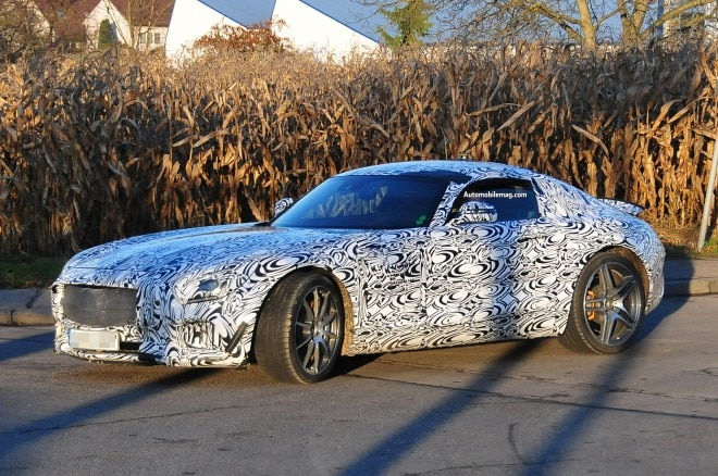 Mercedes Benz AMG GT Spied Front Three Quarter 21 660x438