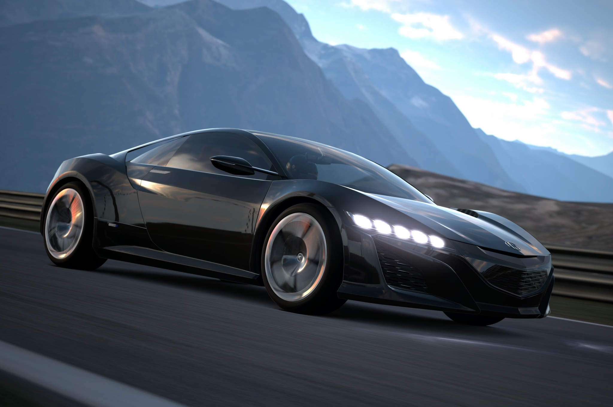 Acura Nsx Concept Gt6 Front Three Quarter1