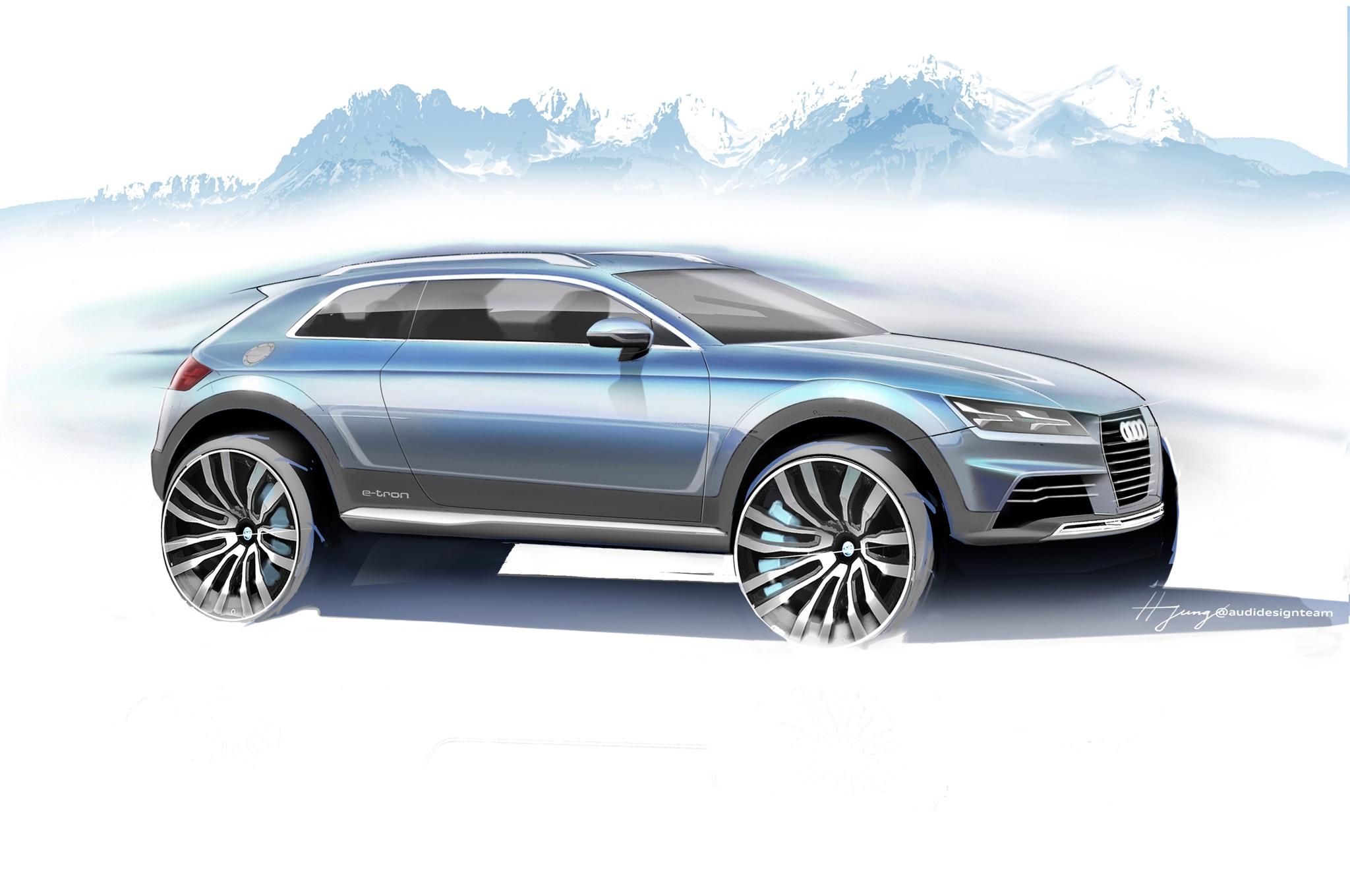 Audi Crossover Concept 2014 Detroit Front Three Quarter1
