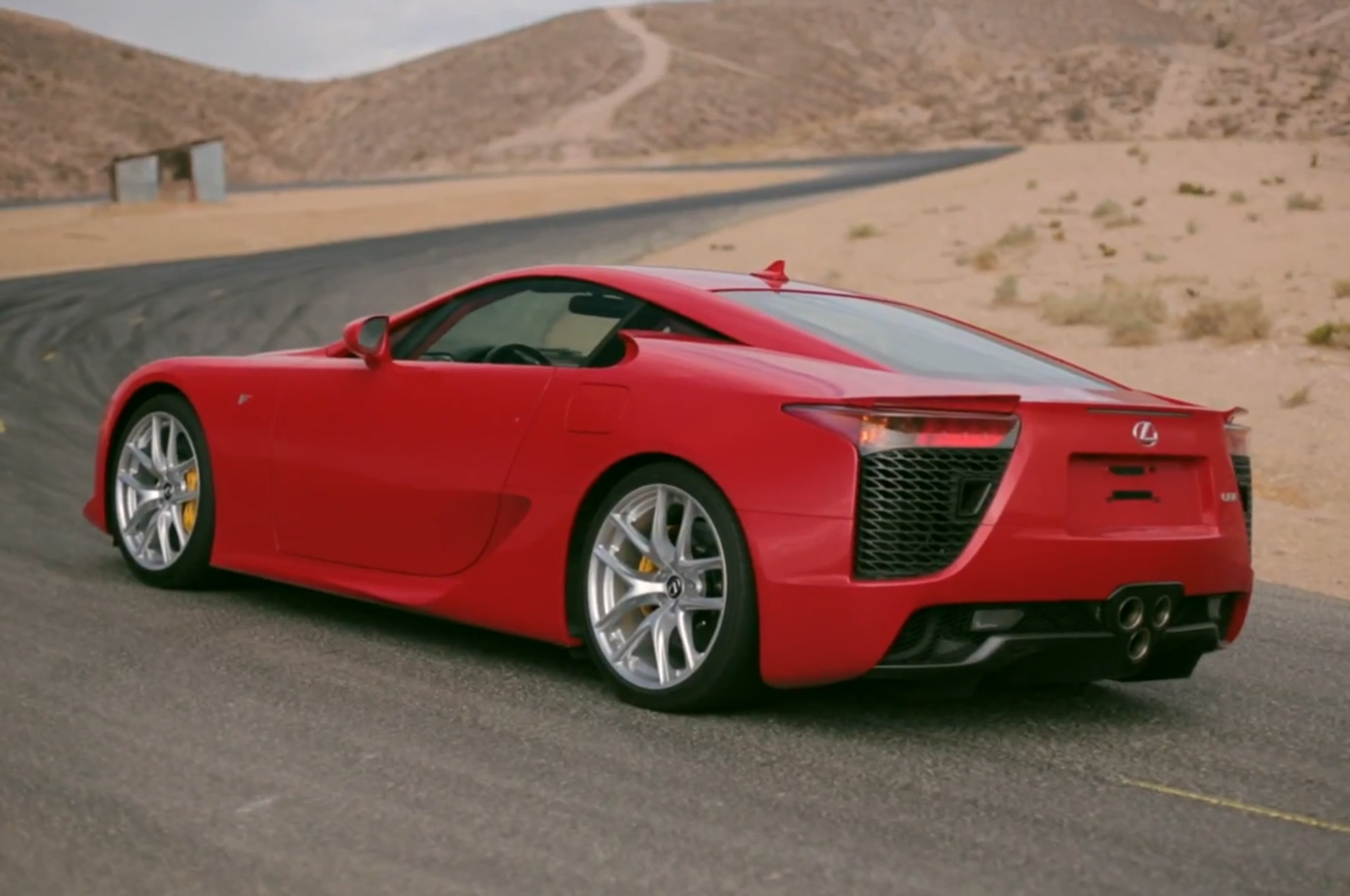 Feature Flick Lexus Lfa 11