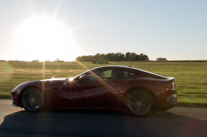 Ferrari F12 Berlinetta At Gingerman Side View 660x438