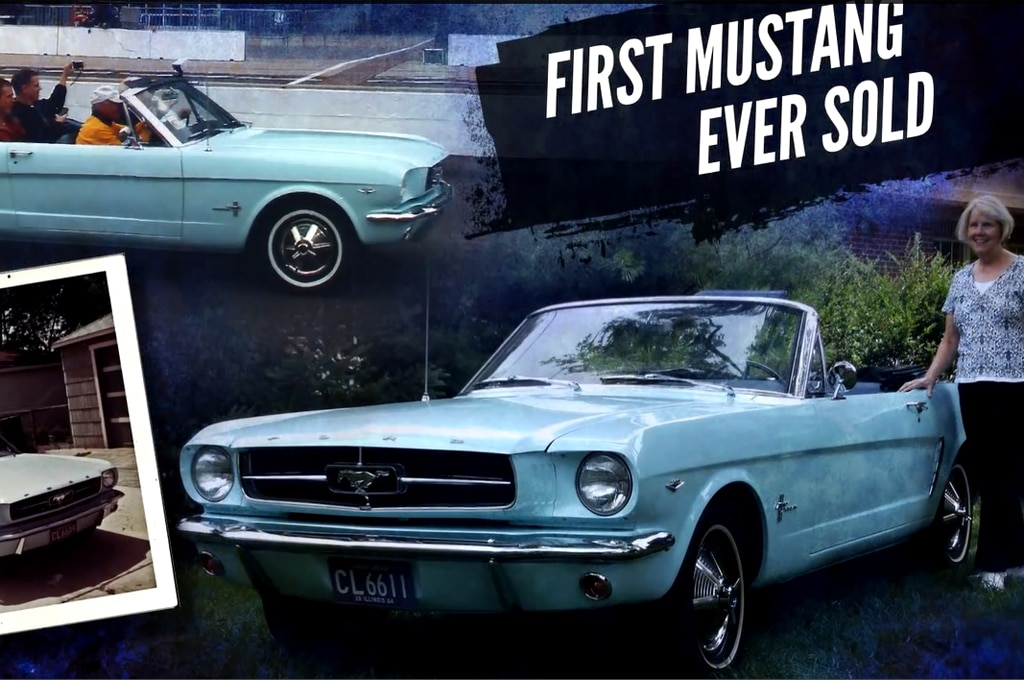 First Ford Mustang Sold Screenshot1