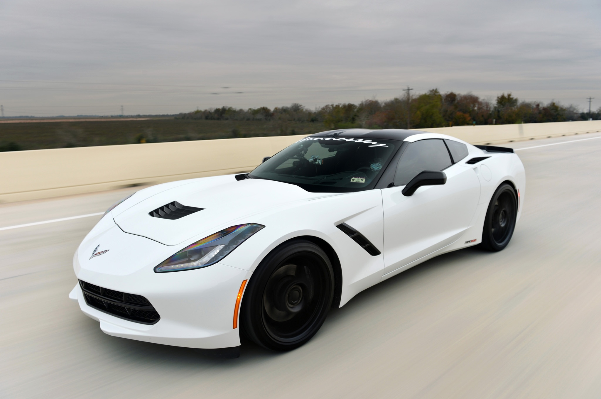 HennesseyTuned 2014 Chevrolet Corvette Eclipses 200 MPH on Texas