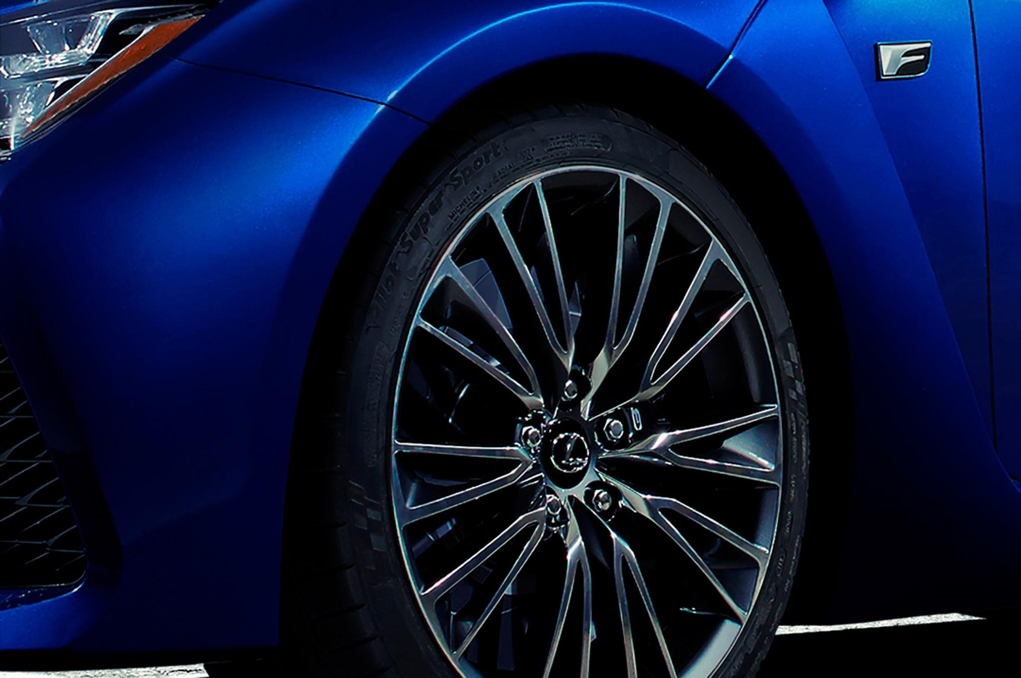 Lexus F Model Detroit Teaser