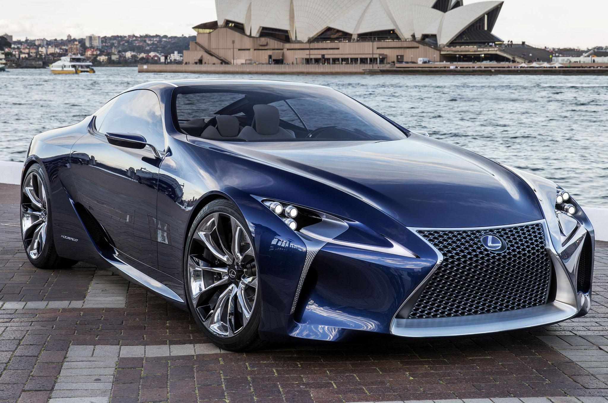 Lexus Lflc Concept Blue Front1