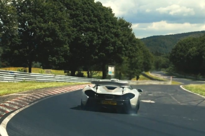 Mclaren P1 Nurburgring Video 21 660x438