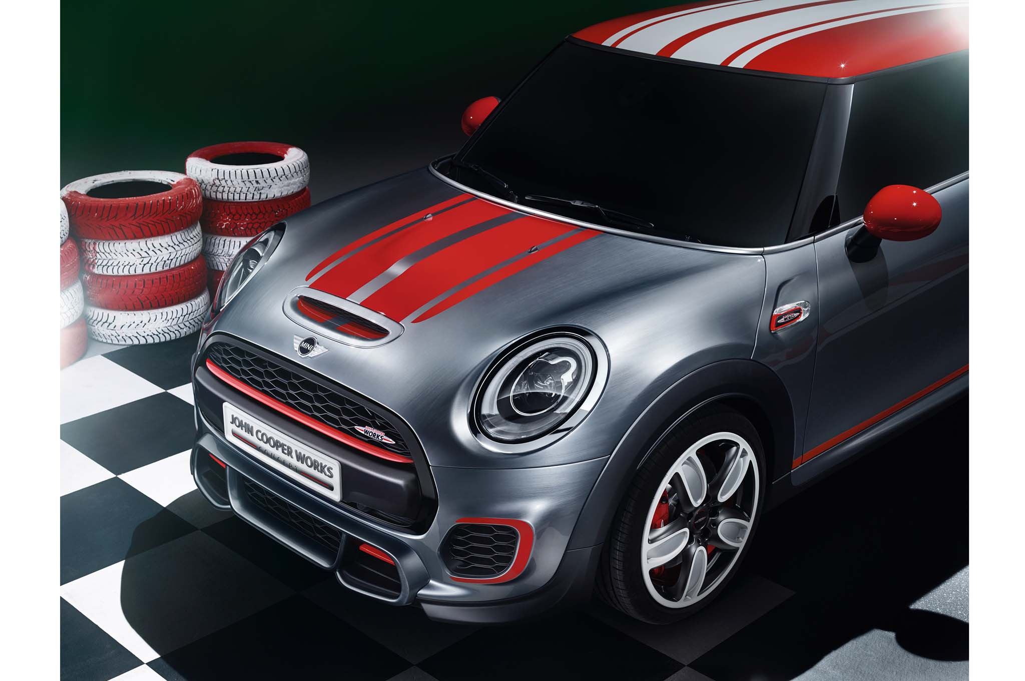 In terms of looks the mini john cooper works