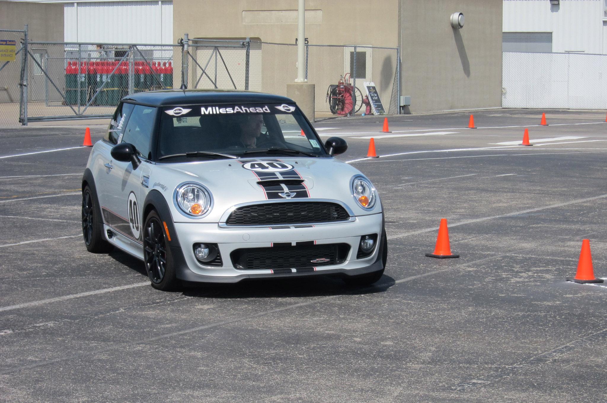 Mini Performance Motoring School Autocross 11