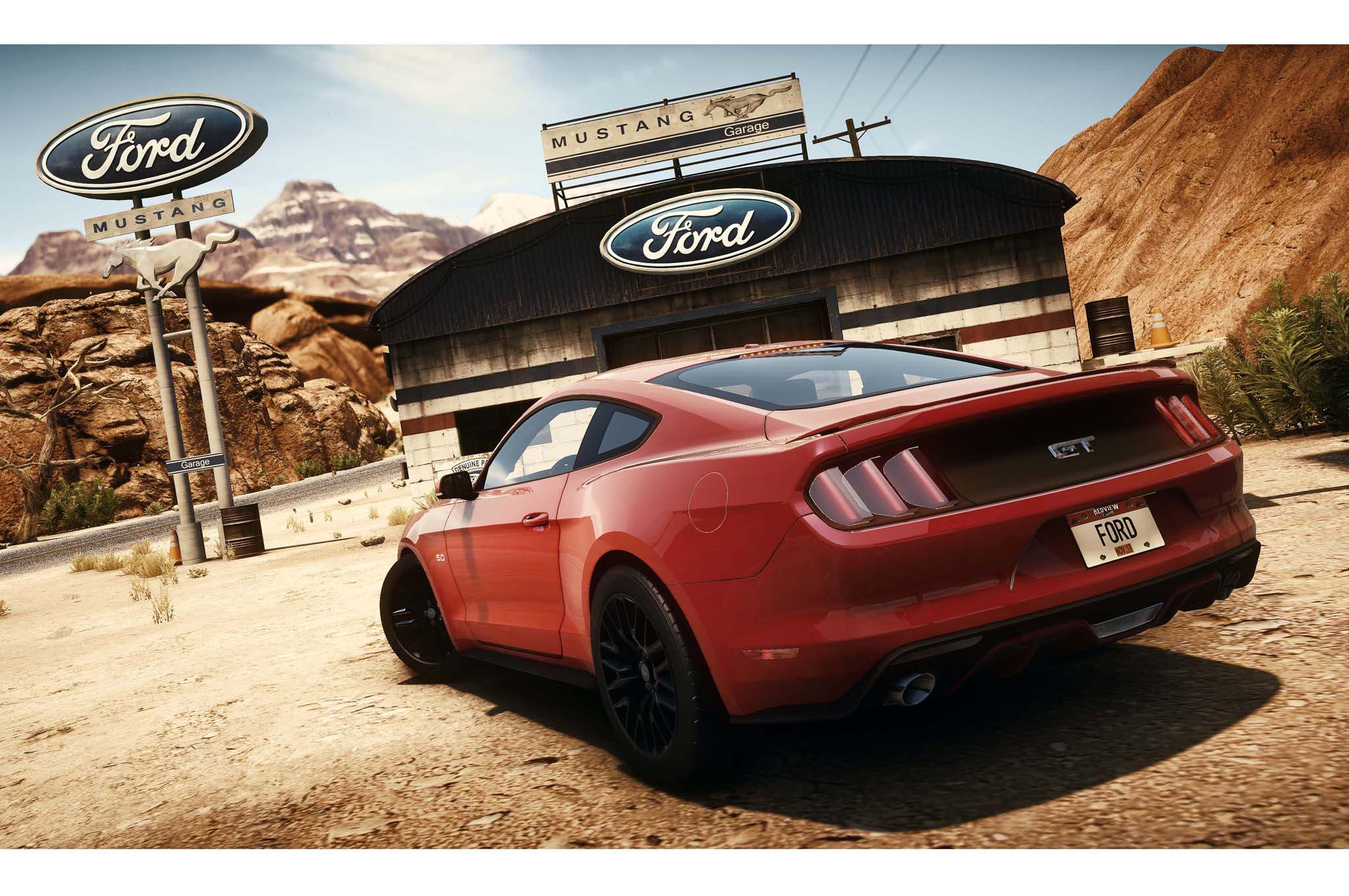 Need For Speed 2015 Ford Mustang Rear1