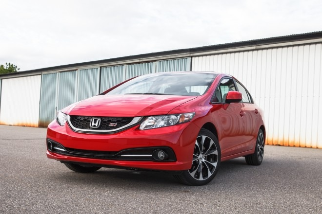 2013 Honda Civic Si Front Left View 3 660x440