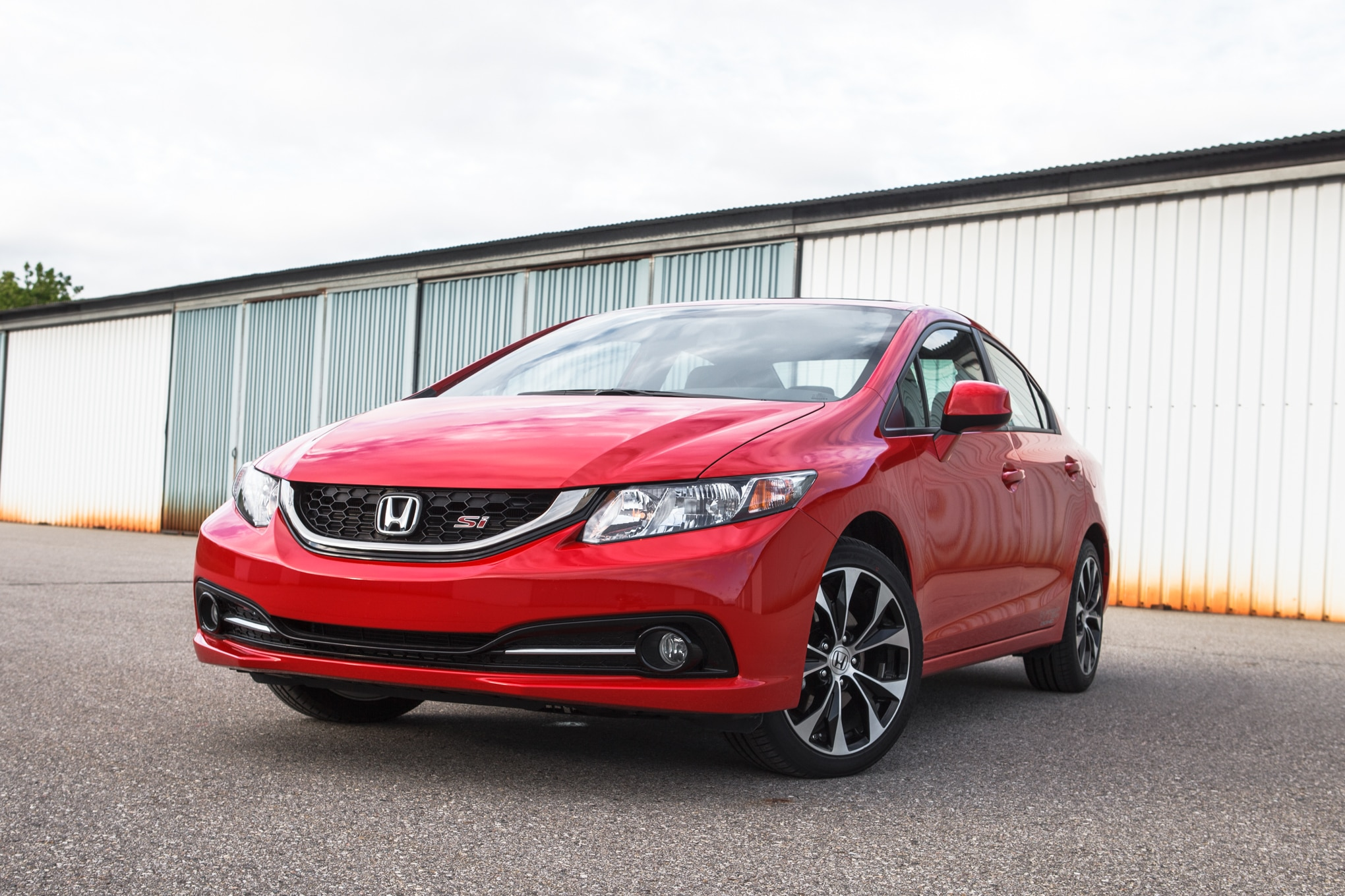 2013 Honda Civic Si Front Left View 3