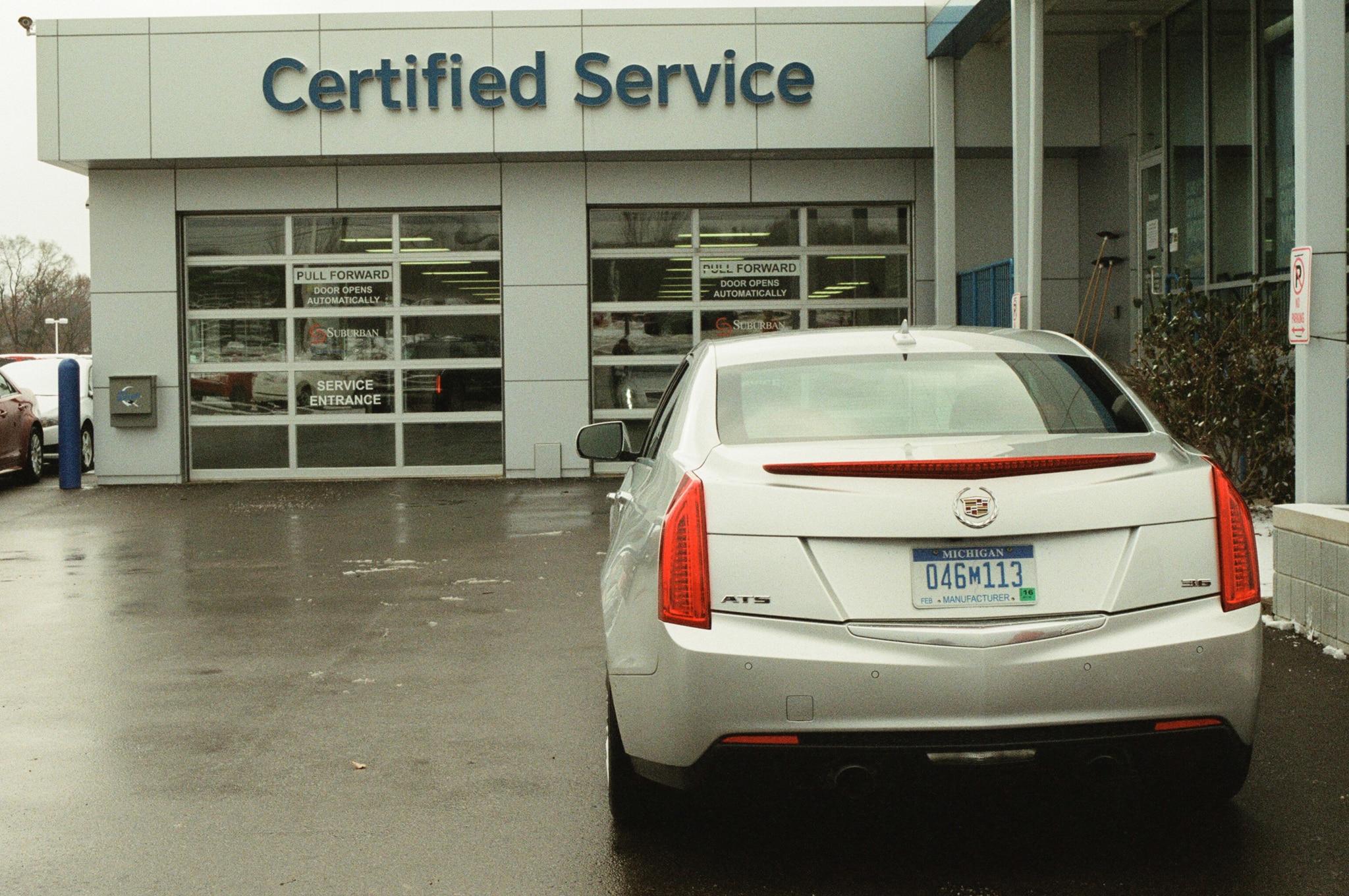 Car Rental Ann Arbor 2013 Cadillac ATS - Four Seasons Update - January 2014 - Automobile ...