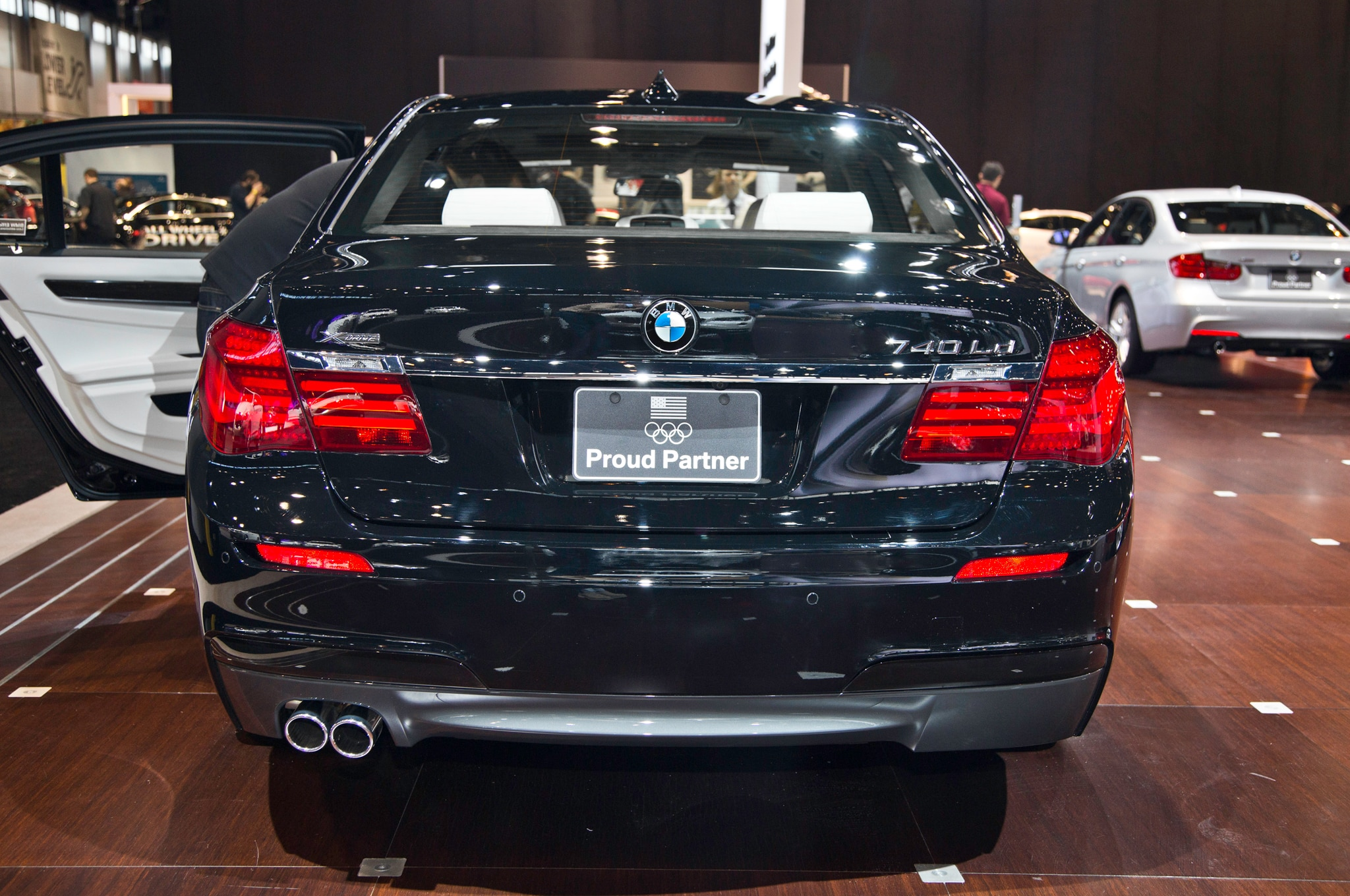 2014 bmw 740ld xdrive announced ahead of 2014 chicago auto show automobile magazine. Black Bedroom Furniture Sets. Home Design Ideas