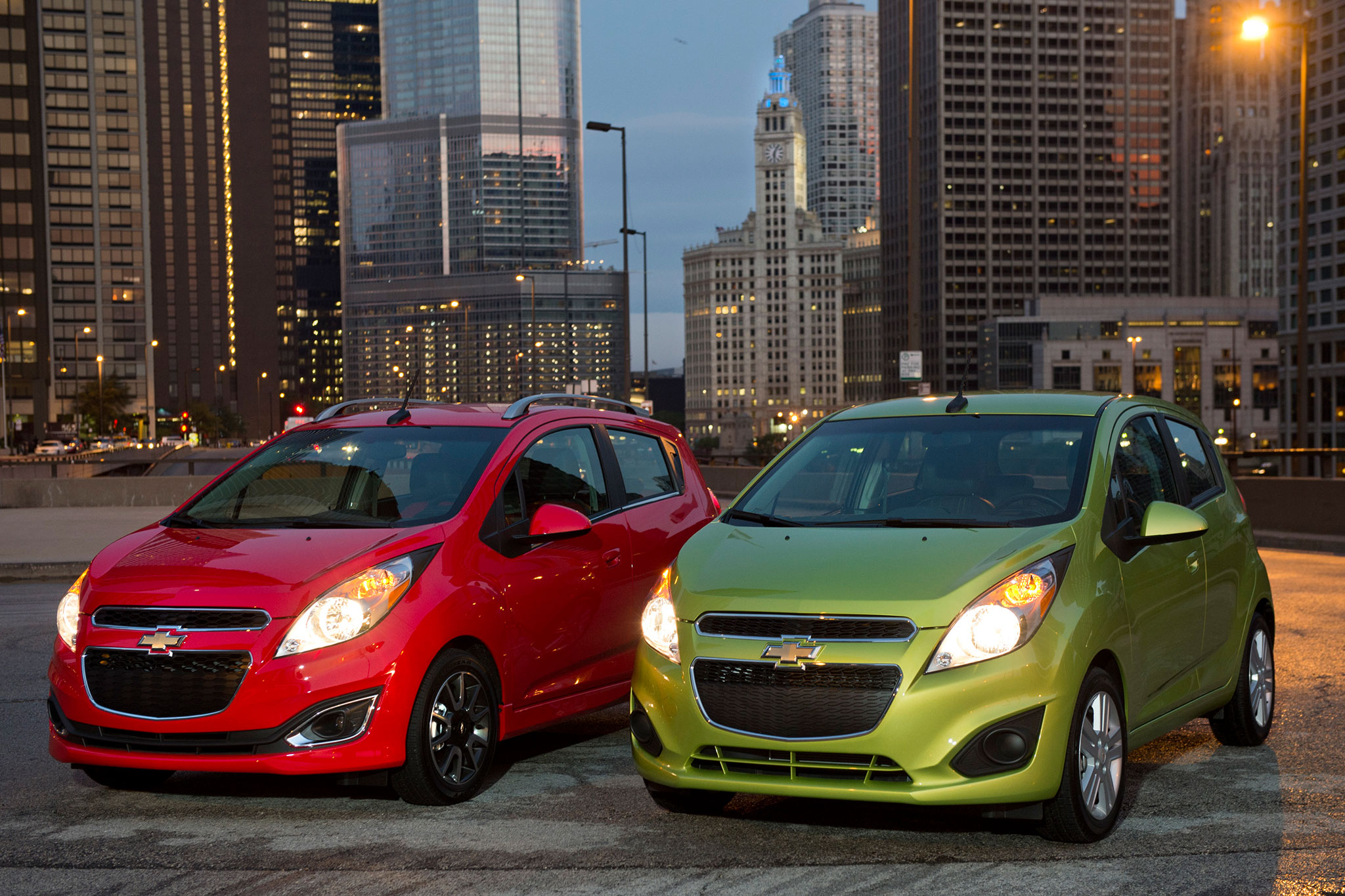 2014 Chevrolet Spark Front View 11