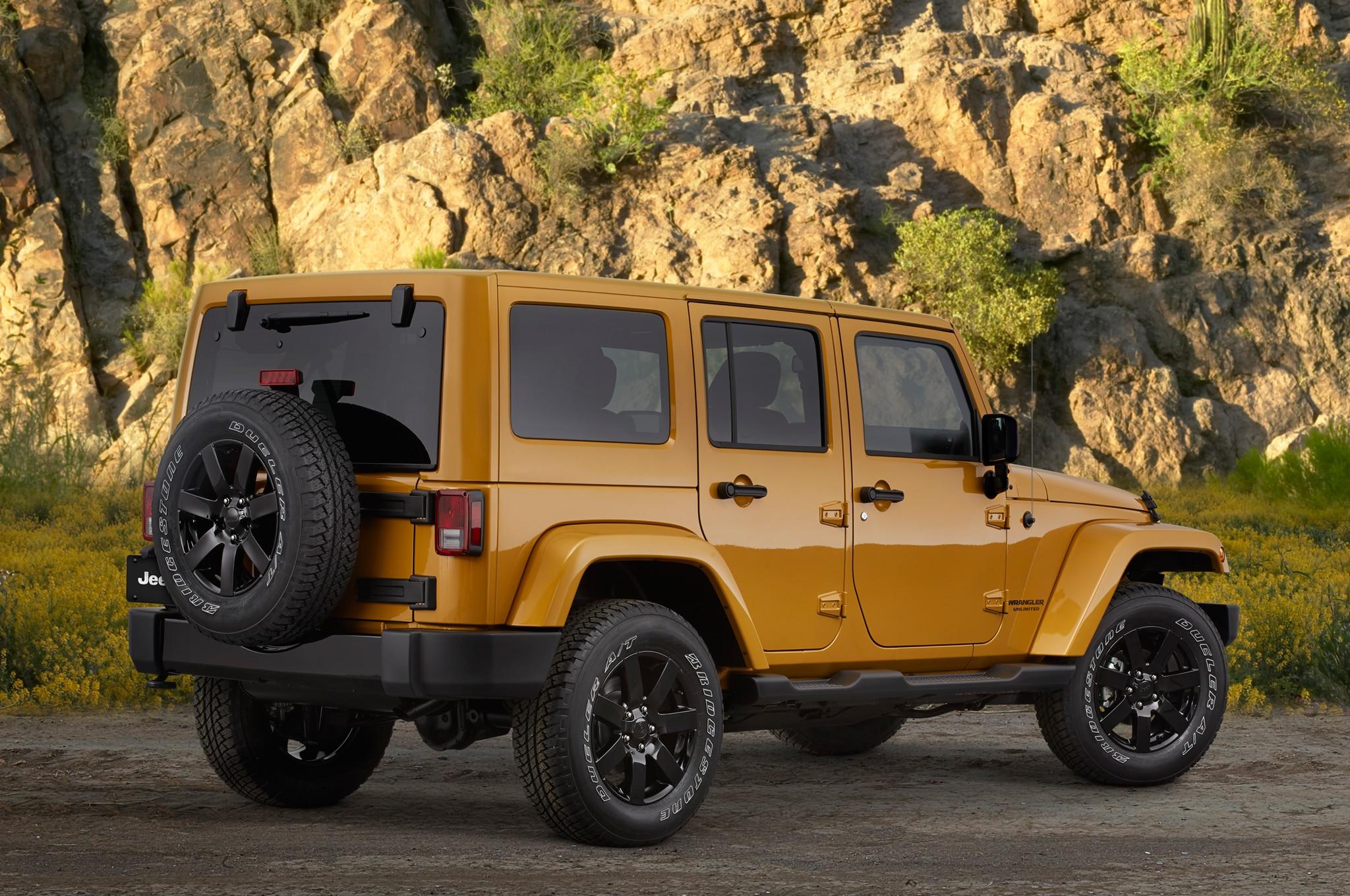 2014 Jeep Cherokee Grand Cherokee and Wrangler Gain Altitude