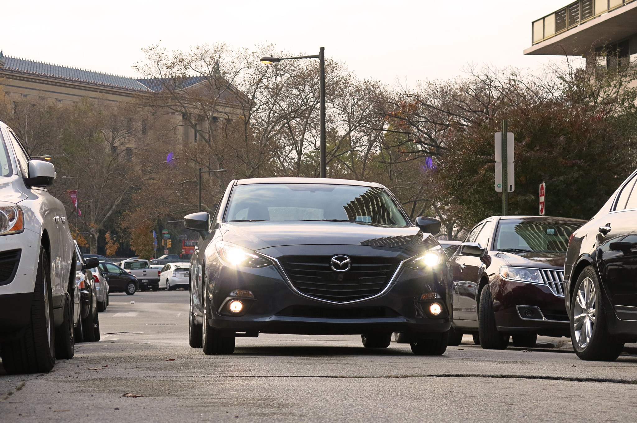 2014 Mazda3 Four Seasons Philadelphia 11 Front In Motion