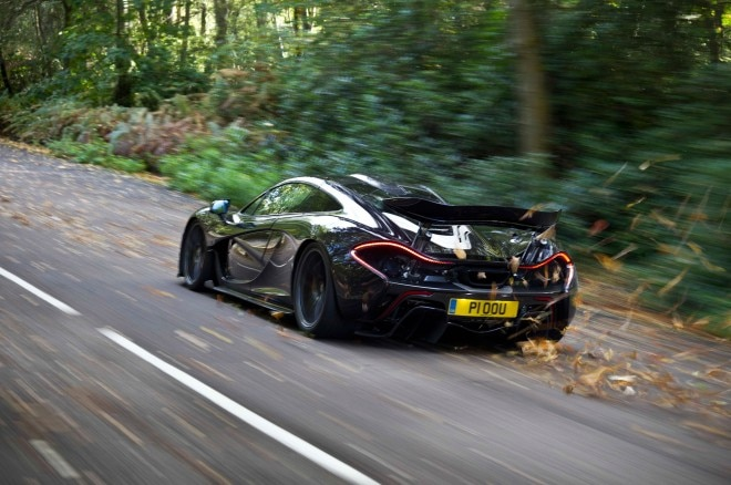 2014 Mclaren P1 Rear Left View 21 660x438