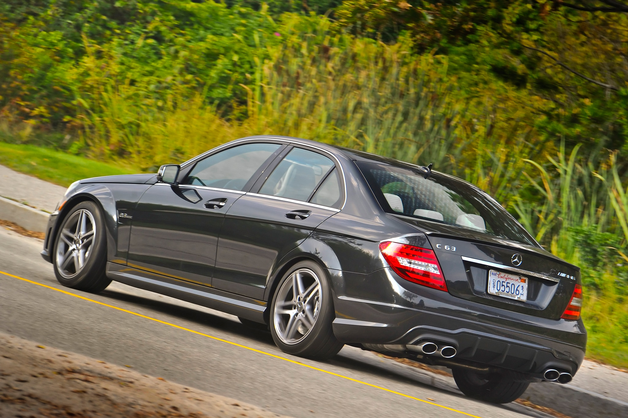 2014 Mercedes Benz C63 AMG Rear Drivers Side