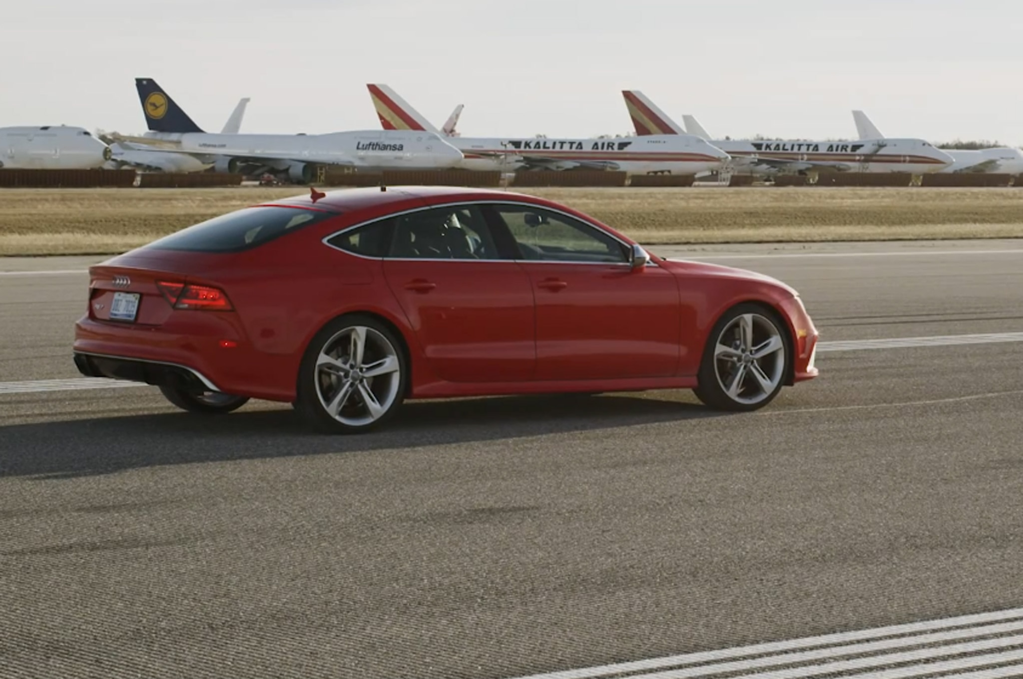 2014 Audi Rs7 Standing Mile Video 11