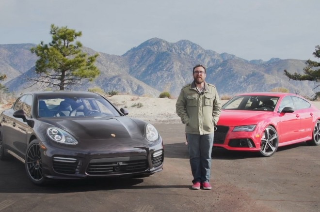 2014 Audi Rs7 Vs 2014 Porsche Panamera Turbo 660x438
