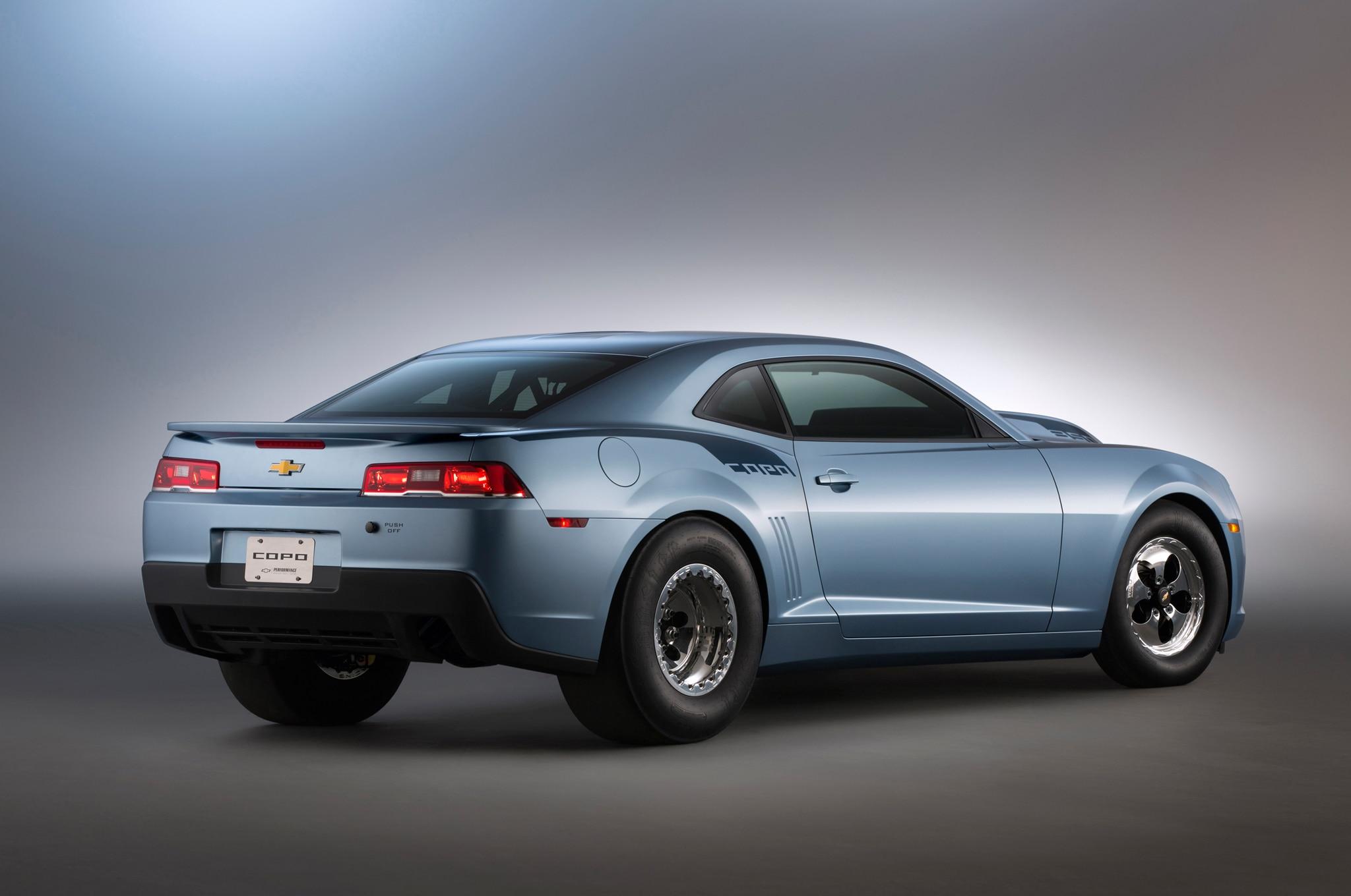 2014 Chevrolet Copo Camaro Rear Angle