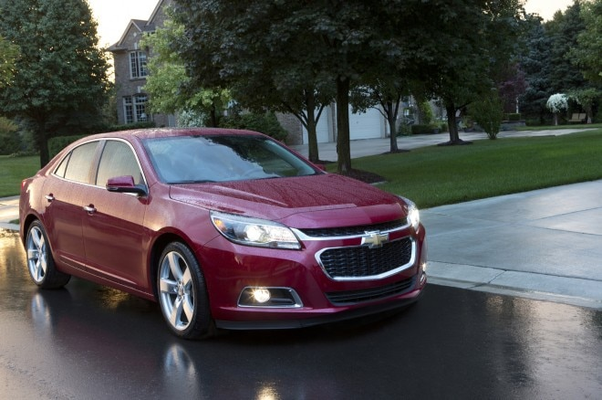 2014 Chevrolet Malibu Front Three Quarter Static 660x438