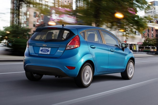 2014 Ford Fiesta Rear 660x438